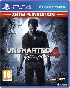 Гра Uncharted 4: Путь вора - Хиты PlayStation для PS4 (Blu-ray диск, Russian version)