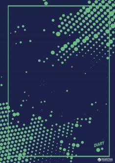 Недатированный ежедневник Аркуш ART А5 на 352 страницы в линию Зеленые шарики (А5НДАТ-АРТ-352ББЛ218)