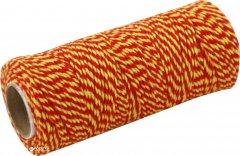 Шпагат хлопковый Радосвіт 100 м Желто-красный (4820172931423)