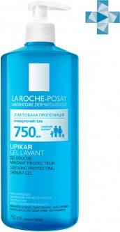 Гель La Roche-Posay Lipikar із захисними властивостями для новонароджених дітей і дорослих 750 мл (3337872418815)