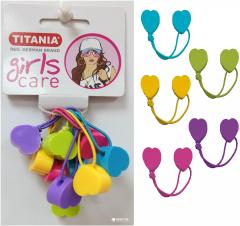Набор резинок для волос Сердце Titania 7983 Girl (7983 GIRL)
