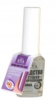 Средство для сушки и закрепления лака EVA cosmetics Clinik 60 сек Прозрачное 12 мл (5901045038834)