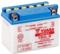 Мото аккумулятор Yuasa 12V 4.2Ah YuMicron Battery YB4L-B (сухозаряжений) (YB4L-B)