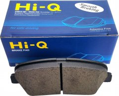 Колодки тормозные задние Sangsin Brake HI-Q Brake Pad Hyundai Santa Fe (10->), Santa Fe (12->), Genesis (08->) и др. (SP1247)
