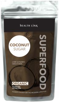 Сахар Health Link Кокосовый органический 500 г (8594046602035)