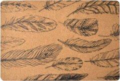Сервировочный коврик МД 30 х 45 см перо (PM10184)