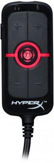 Звуковая карта HyperX Amp USB Sound Card (HX-USCCAMSS-BK)