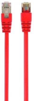 Патч корд Cablexpert CAT6 FTP 0.25 м Красный (PP6-0.25M/R)