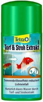 Средство для предотвращения появления водорослей Tetra Pond Torf & Stroh (AlgoSchutz) 250 мл на 5000 л (4004218751187)