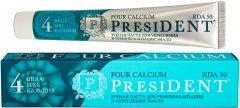 Зубная паста PresiDENT Four Calcium 75 г (4605370021011)