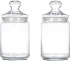 Набор банок для сыпучих продуктов Luminarc Club 2 шт (P1424)