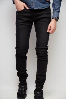 Джинси чоловічі джогеры утеплені Fashion Republic Mario Joggers 6371 33 Чорний