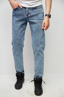 Джинси чоловічі мом Fashion Republic Mario 1 34 Синій
