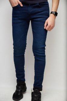 Джинси чоловічі утеплені Fashion Republic Jeckerson 2313 33 Синій
