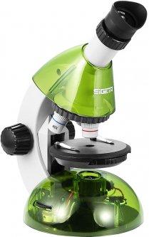 Микроскоп Sigeta Mixi с адаптером для смартфона (40x-640x) Green (65912)