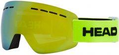 Маска горнолыжная HEAD Solar FMR Lime (726424484546)