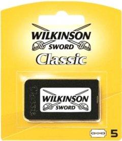 Сменные лезвия для бритья Wilkinson Sword Double Edge Classic 5 шт (4027800011209)