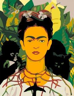Набор для творчества Rosa Start акриловая живопись по номерам Фрида Кало (4823098507444)