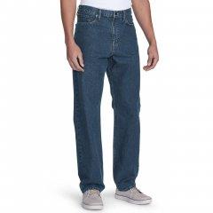 Джинси чоловічі Eddie Bauer Mens Traditional Fit Essential Jeans DK STONEWASH (33W32L)