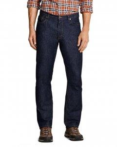 Модні чоловічі джинси Eddie Bauer Mens Flex Джинси Slim Fit DK WASH (36W 32L)