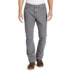 Модні чоловічі джинси Eddie Bauer Men Straight Fit Authentic CHROME (30W32L)