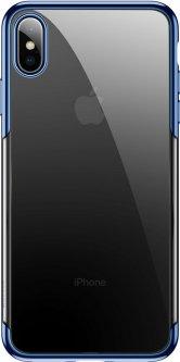 Панель Baseus Glitter для Apple iPhone Xs Max Blue (WIAPIPH65-DW03)