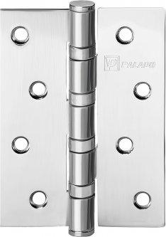 Петля дверная Paladii 100x75 мм универсальная 2 шт SC Матовый хром (ПП083)
