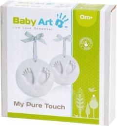 Набор для создания отпечатка ручки и ножки малыша Baby Art Мое чистое касание с блестками (3601096200) (3220660304585)