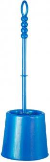 Ёршик для унитаза ZAMBAK PLASTIK Ipek 35x10 см голубой (ZP84028/LBl)