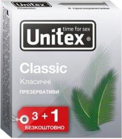 Презервативы Unitex Classic 4 шт (798190041100)