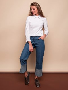 Торос джинсы сизый 42