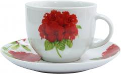 Набор чайный Milika Geranium из 12 предметов (M0630-WX12-8807)