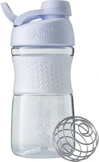 Спортивная бутылка-шейкер BlenderBottle SportMixer с шариком Twist 590 мл Белая (Twist 20oz White)