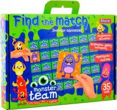 Настольная игра 1 Вересня Find The Match Monster Team (4823091900822)
