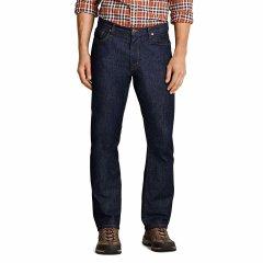 Джинсы Eddie Bauer Mens Flex Jeans Slim Fit DK WASH 32-32 Синие (792-0109DWS-32W 32L)