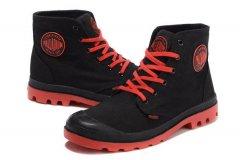 Мужские кеды Pampa Hi Black Red размер 44 Черный (115268-44)