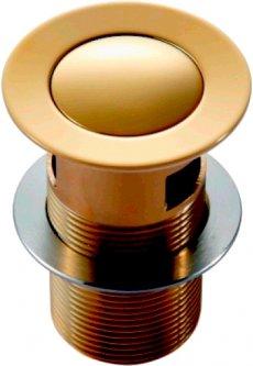 Донный клапан для раковины IMPRESE PP280 Zlato
