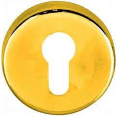 Накладка на цилиндр Condi Collection круглая Золото мат (40630940)