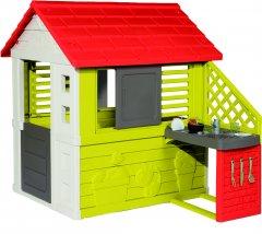 Домик Smoby Toys Солнечный с летней кухней (810713) (3032168107137)