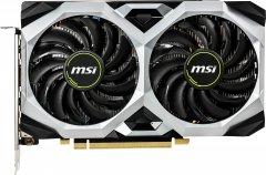 MSI PCI-Ex GeForce GTX 1660 Ventus XS 6G OC 6GB GDDR5 (192bit) (1408/8000) (3 x DisplayPort, 1 x HDMI) (GeForce GTX 1660 VENTUS XS 6G OC)