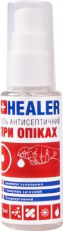 Гель антисептический HEALER при ожогах 35 мл (4820222180184)