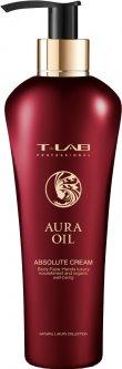 Крем T-LAB Professional Aura Oil Absolute Cream для роскошной мягкости и натуральной красоты кожи 300 мл (5060466662537)