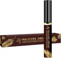 Средство для роста ресниц и бровей Maldives Dreams натуральное без гормонов 10 мл (4820173326259)