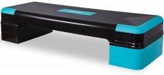 Степ-платформа USA Style LEXFIT 90 x 34 x 10/16/21 см Черно-синий (LKSP-1018)