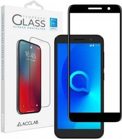 Защитное стекло ACCLAB Full Glue для Alcatel 1 (5033D) Black (1283126509087)