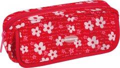 Пенал мягкий Cool For School Flowers 2 отделения Красный (CF86631)