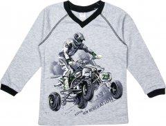 Пуловер Z16 3ІН108-1 (2-130) 104 см Сірий (31010812130104)