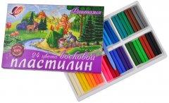 Пластилин восковой Луч Фантазия + стек 24 цвета (4601185011568)