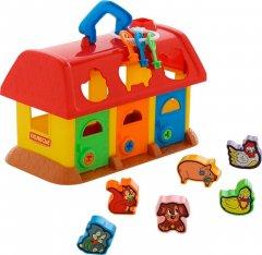 Развивающая игрушка Polesie (Полесье) Домик для зверей Красный (4810344009166-1) (9166-1)