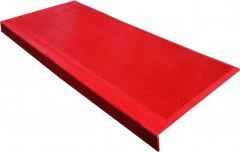 Накладка резиновая для ступеней Киевгума противоскользящая Красная (A40990000692024)